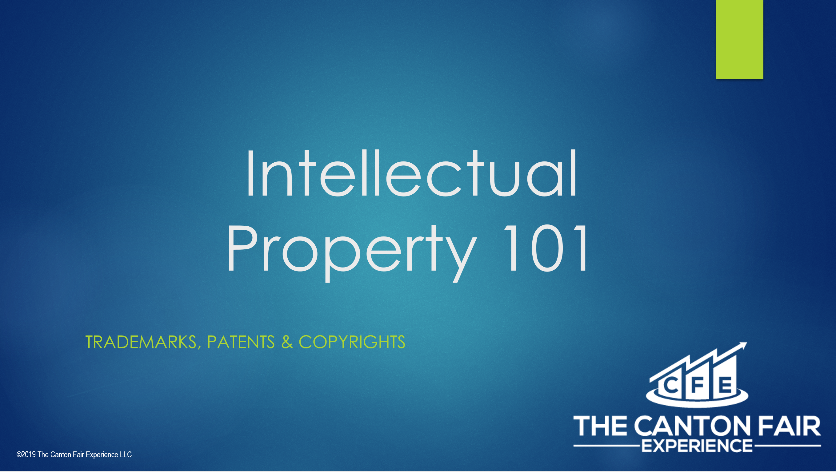 Patents, Trademarks & Copyrights – Understanding Intellectual Property