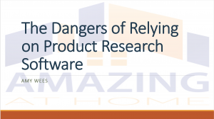 the dangers of relying on product research software
