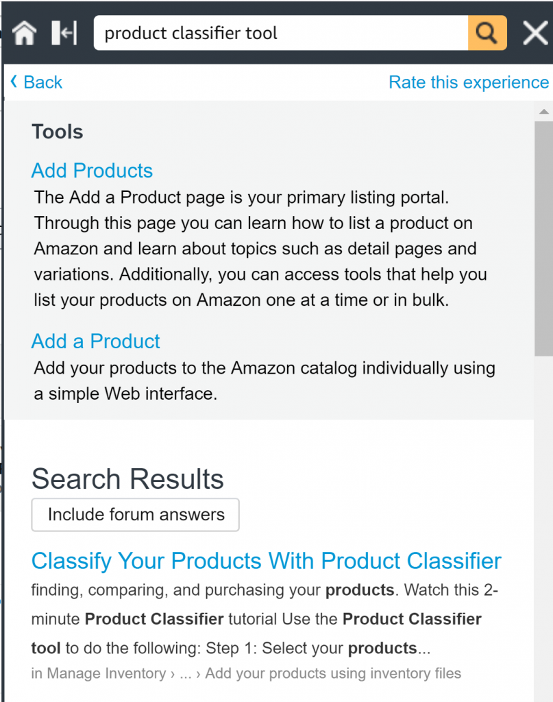 Amazon Product Classifier Tool