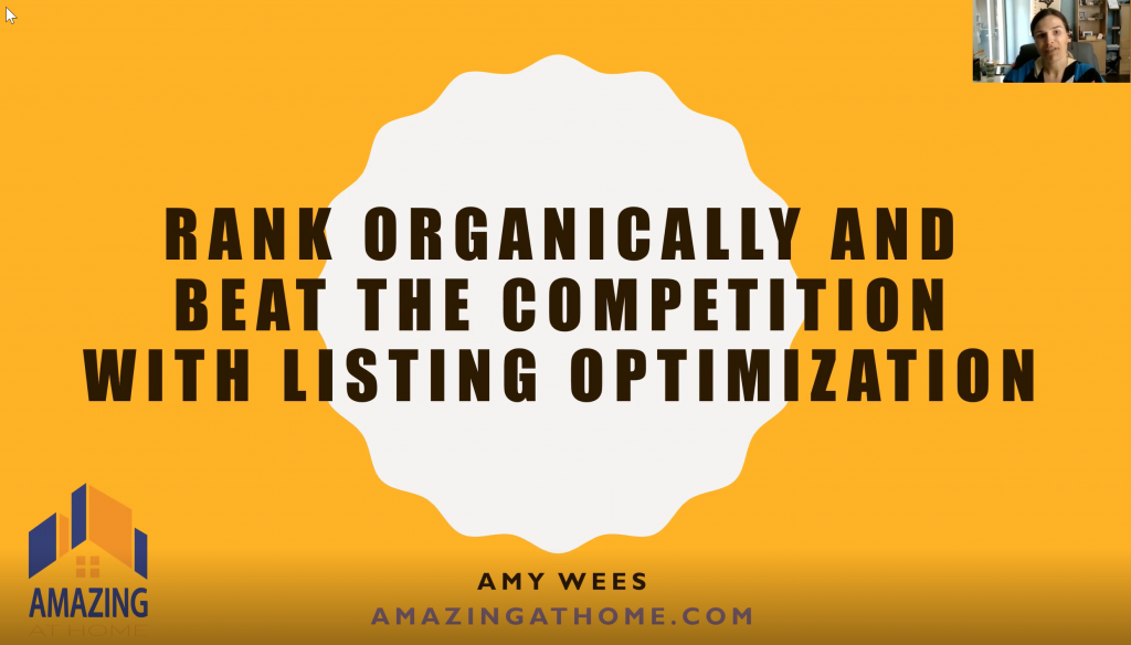 rank organically and beat the competition with amazon product listing optimization service from amazing at home