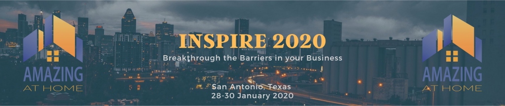Amazing at Home Inspire 2020 conference