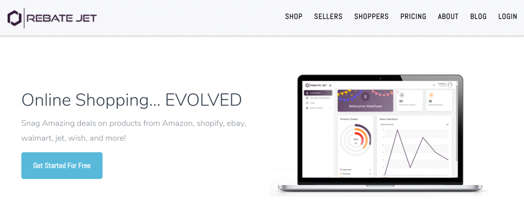 rebate jet get rebates for retail products