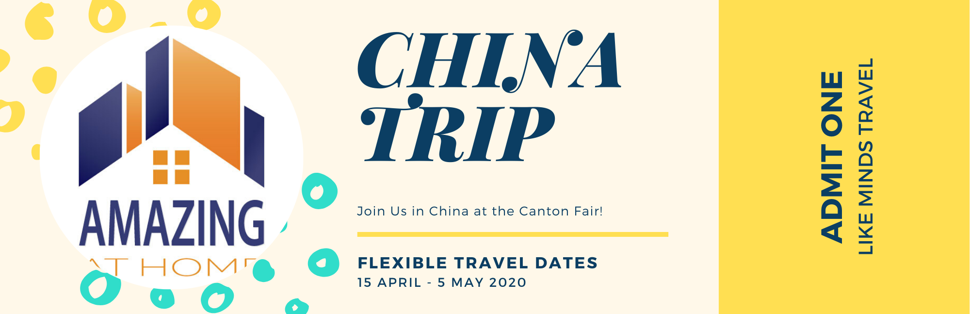 Amazing in China – Canton Fair April 2020 Sourcing Trip