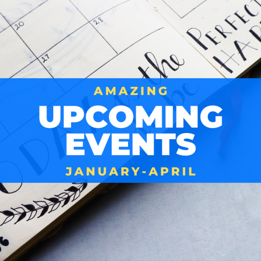 Upcoming Events Amazing at Home
