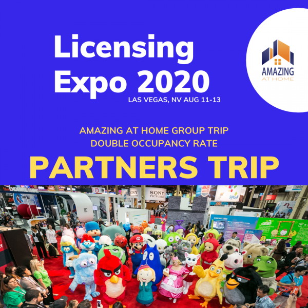 Las Vegas Licensing Expo Group Trip with Amazing at Home Partners