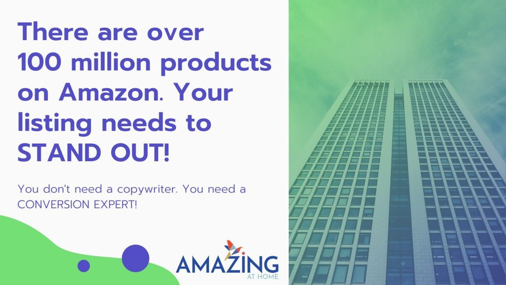 Amazon Listing Optimization Services by Amazing at Home Conversion Experts