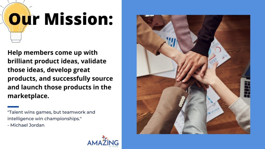 amazing ecommerce mastermind mission statement