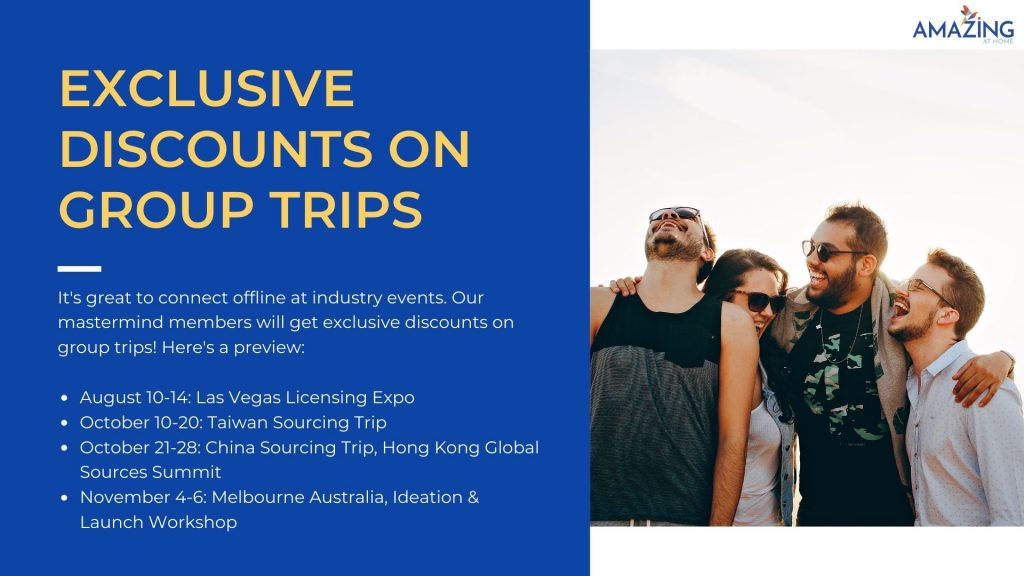 discounts on amazing at home group trips and events coupon code