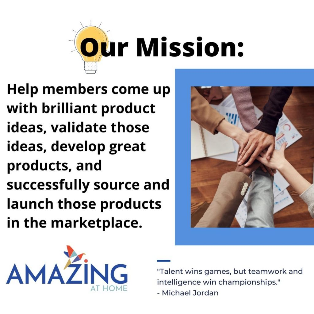 amazing at home mastermind group