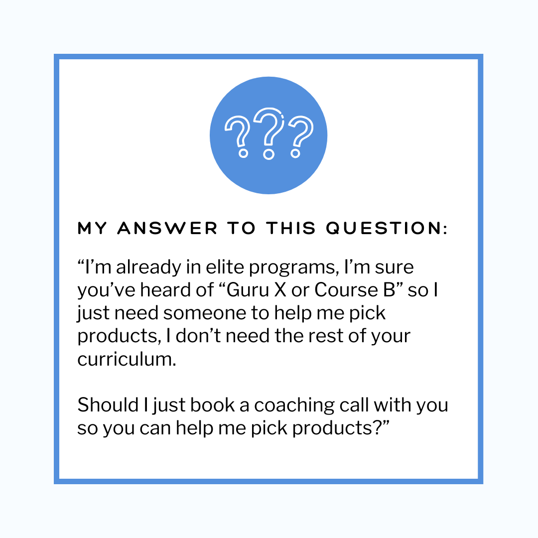 Why I Can't Pick Up Where Your Amazon Course Left Off