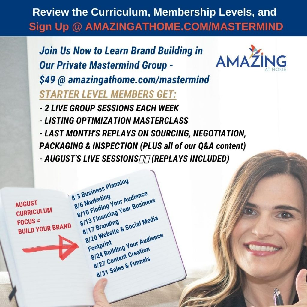 August Mastermind Group Brand Building