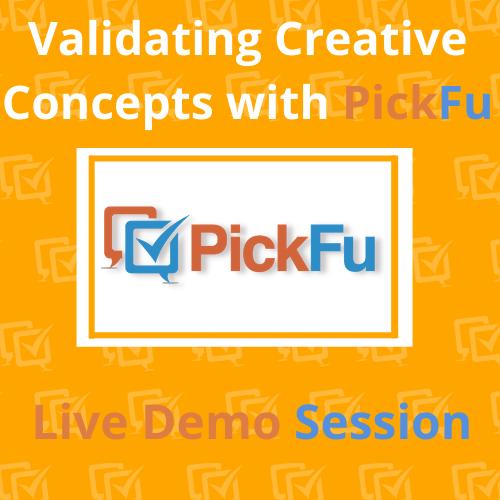 Validating Creative Concepts with PickFu